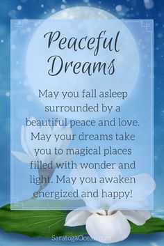 🌙 shubh ratri - Peaceful Dreams May you fall asleep surrounded by a beautiful peace and love May your dreams take you to magical places filled with wonder and light . May you awaken energized and happy ! Saratoga Ocean - ShareChat