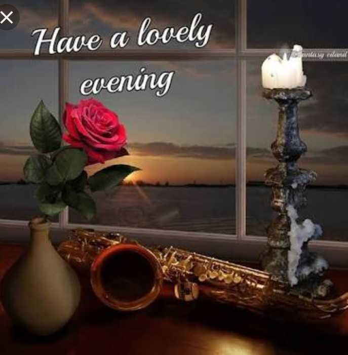 shubh sham - * Have a lovely evening sy mana - ShareChat