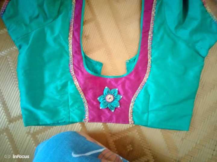 simple blouse design - EOS 0 InFocus - ShareChat