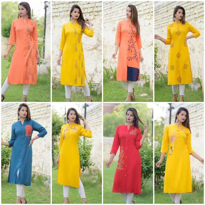 👕stylish kurti - ShareChat