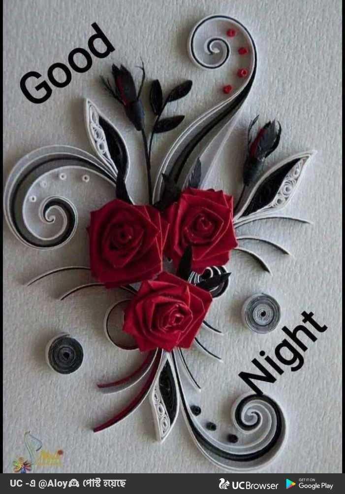 subha ratri - Good Night GET IT ON UC - 2 @ Aloys CE AU UC Browser Google Play - ShareChat