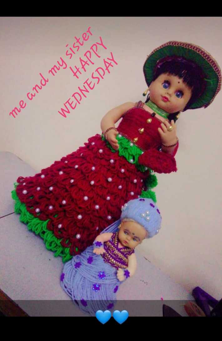 super - HAPPY me and my sister WEDNESDAY - ShareChat