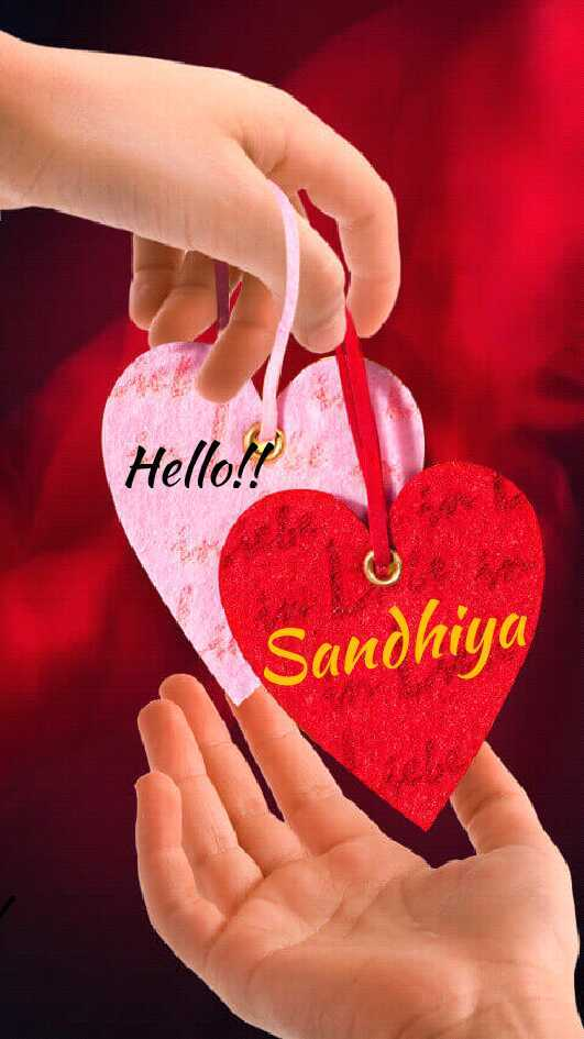 super images - Hello ! ! Sandhiya - ShareChat