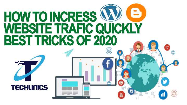 techlinics - HOW TO INCRESS W 6 WEBSITE TRAFIC QUICKLY BEST TRICKS OF 2020 TECHLINICS - ShareChat