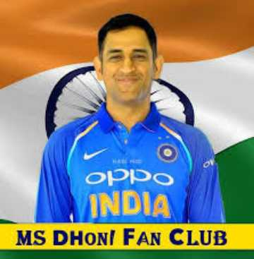 thala dhoni - WAWA орро INDIA MS DHONI FAN CLUB - ShareChat