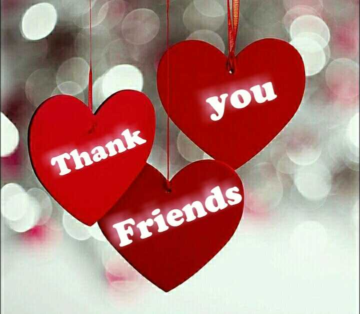thank you - JOS you Thank Friends - ShareChat