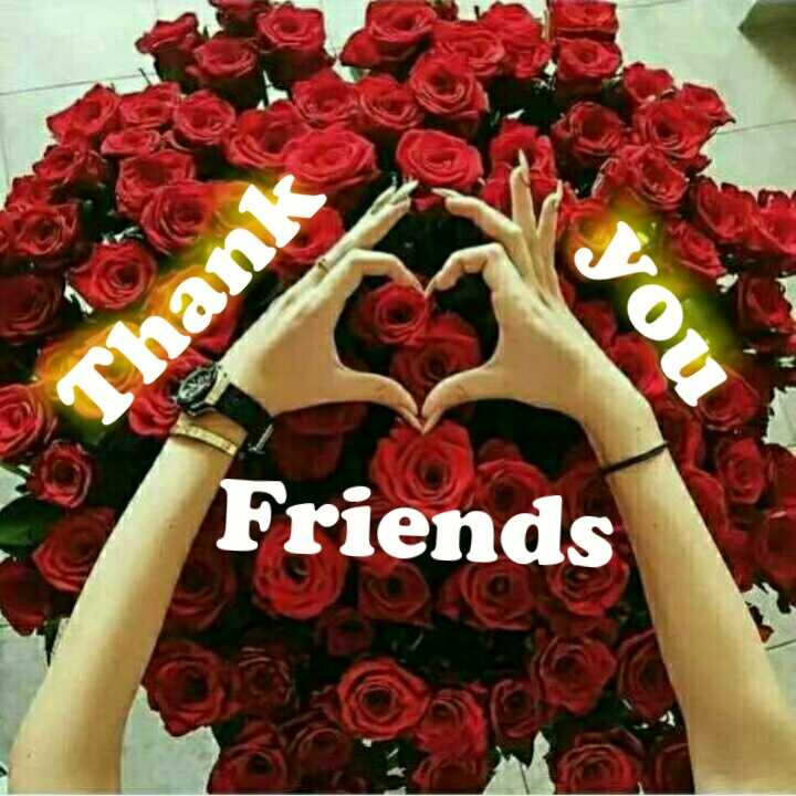thank you - Friends - ShareChat