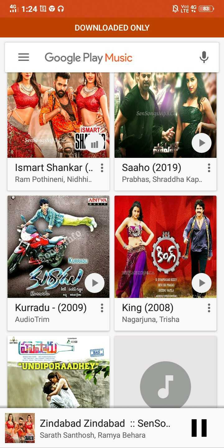time pass - 46 1 : 24 E90 192 46 83 DOWNLOADED ONLY = Google Play Music SenSongsMp3 . Co SMART - SensongsM3 . CO ROUE Ismart Shankar . . : Ram Pothineni , Nidhhi . . Saaho ( 2019 ) Prabhas , Shraddha Kap . . ADITYA KURRADU SEMESANGSMP3 . CA I SIVAPRASAD REDDY LEVI SRI PRASAD SREENU VAITLA ABENEVA VENETARISAN VV కిరణ్ సందీప్ గుణం Krallo agosto Kurradu - ( 2009 ) Audio Trim : King ( 2008 ) Nagarjuna , Trisha * bazi UNDIPORAADHEY BAD MEHAVIOUR @ Zindabad Zindabad : : SenSo . . Sarath Santhosh , Ramya Behara - ShareChat