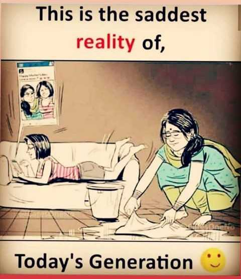today generation..😥😥 - This is the saddest reality of , Today ' s Generation - ShareChat