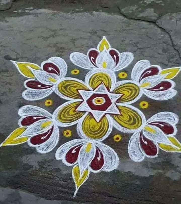 today kolam 😜 - ShareChat