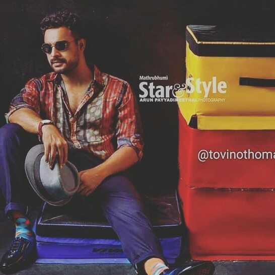 tovi fans - Mathrubhumi Starstyle ARUN PAYYADITEETHAL PHOTOGRAPHY @ tovinothoma - ShareChat