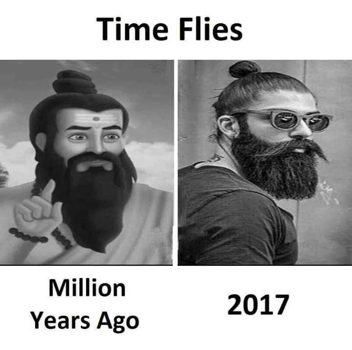 troll - Time Flies Million Years Ago 2017 - ShareChat