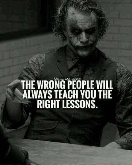true fact..💯 - Basines Mindelo THE WRONG PEOPLE WILL ALWAYS TEACH YOU THE RIGHT LESSONS . - ShareChat