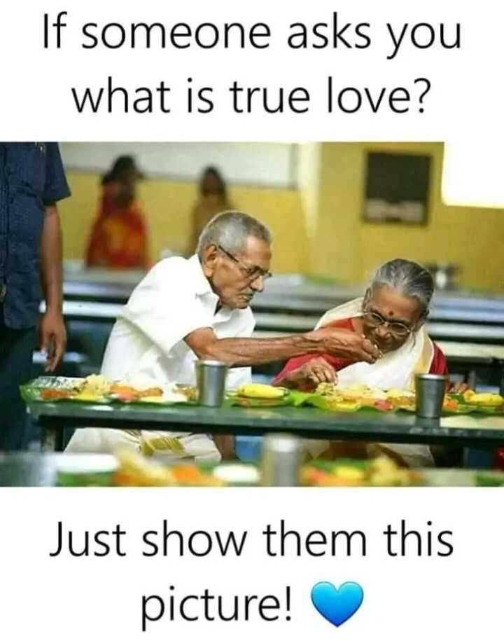 true love - If someone asks you what is true love ? Just show them this picture ! - ShareChat