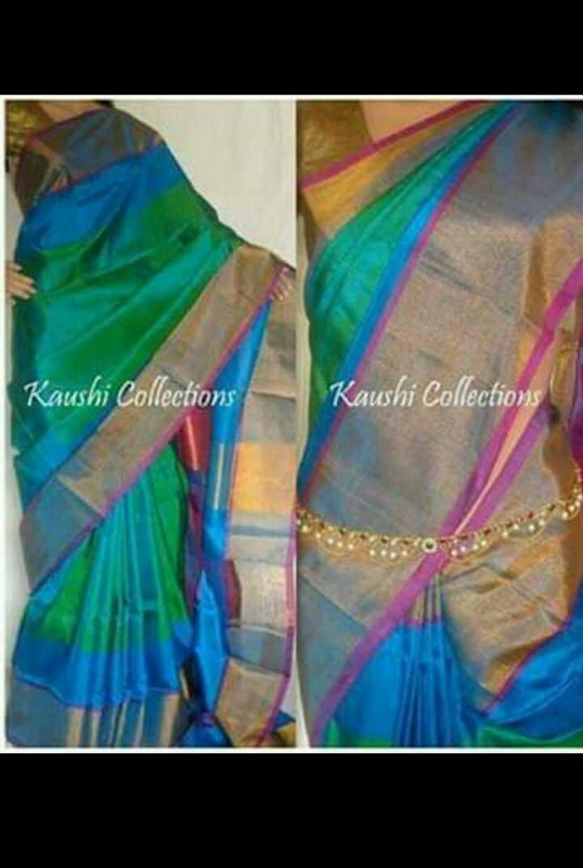 uppada pattu sarees - Kaushi Collections Kaushi Collections - ShareChat