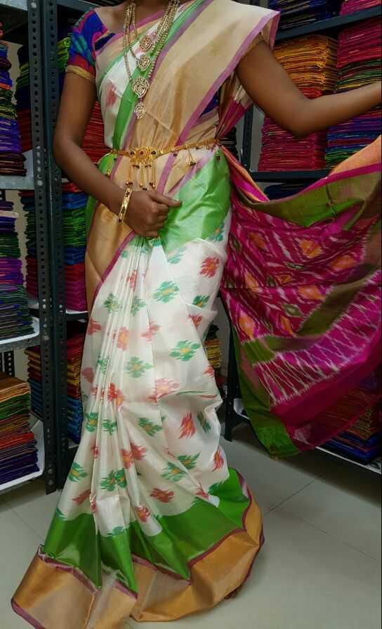 uppada pattu sarees - ShareChat