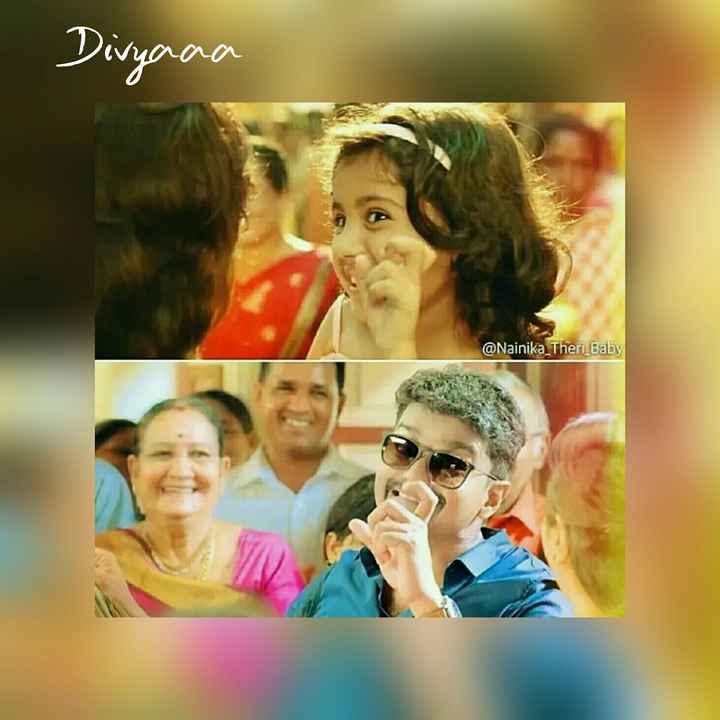 vijay😍😍 - Divyana @ Nainika _ Theri Baby - ShareChat