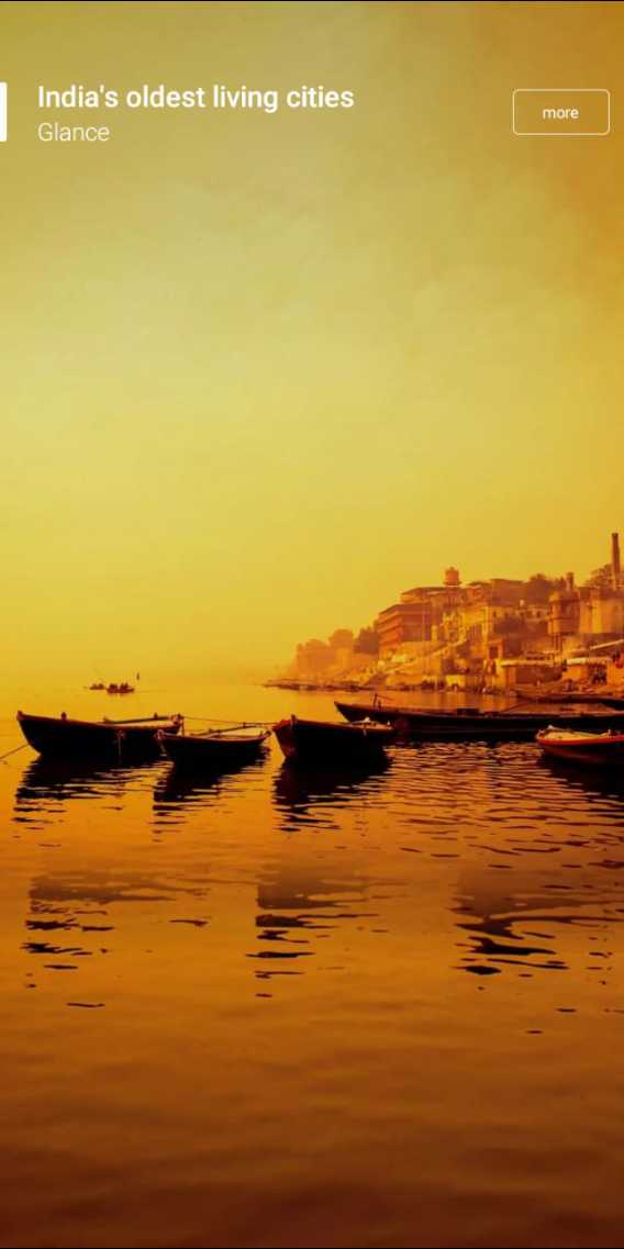 wall papar# - India ' s oldest living cities Glance more - ShareChat