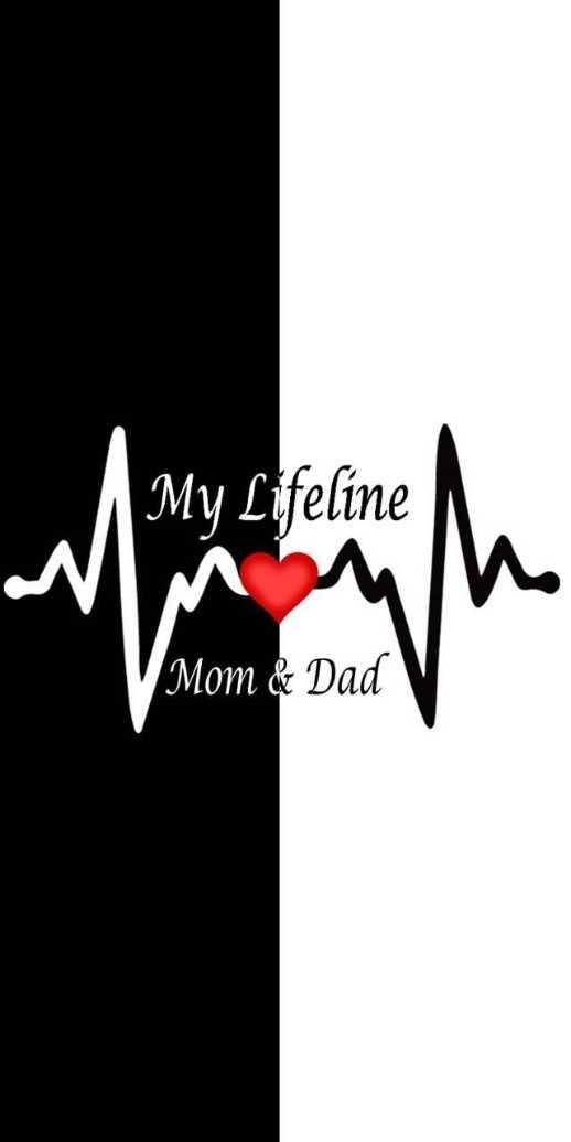 wallpaper - My Lifeline NIM Mom & Dad - ShareChat