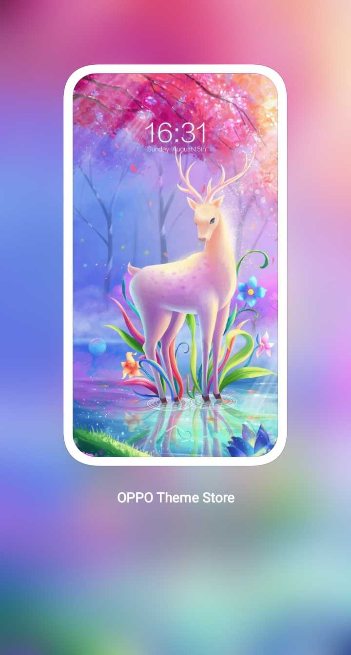 🌄 wallpaper - 16 : 31 Sunday August 15th OPPO Theme Store - ShareChat