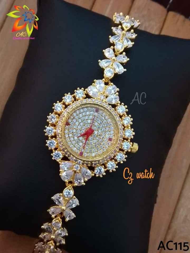 ⌚ watches & purses - AC fram hade Cz watch AC115 - ShareChat