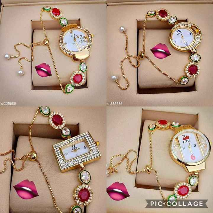⌚ watches & purses - DO S - 335686 S - 335685 CTZ PIC . COLLAGE - ShareChat