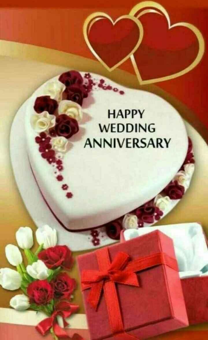wedding anniversary - HAPPY WEDDING ANNIVERSARY - ShareChat