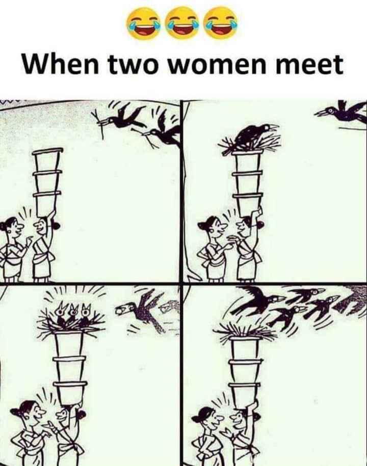womens - When two women meet an at - ShareChat