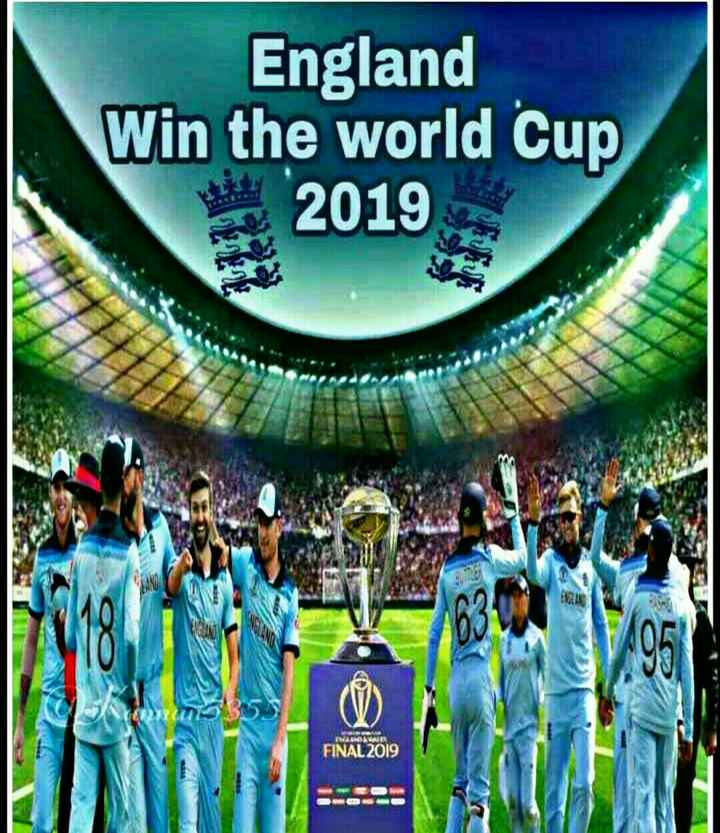 world cup 2019 🏏 - England Win the world Cup 2019 FINAL 2019 - ShareChat