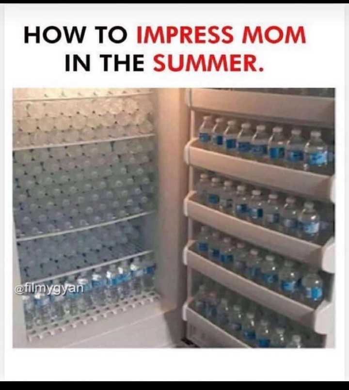 ye mera styl he ok - HOW TO IMPRESS MOM IN THE SUMMER . @ filmygyan - ShareChat