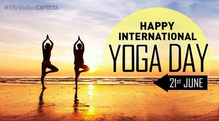 yoga - The Indian EXPRESS HAPPY INTERNATIONAL YOGA DAY 21st JUNE - ShareChat