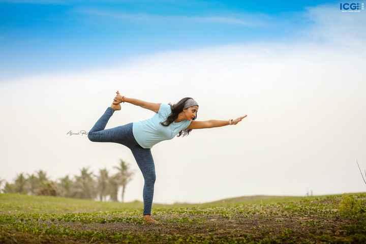 yoga - ICG : INDONEMA FALLERY Aznal Photo - ShareChat