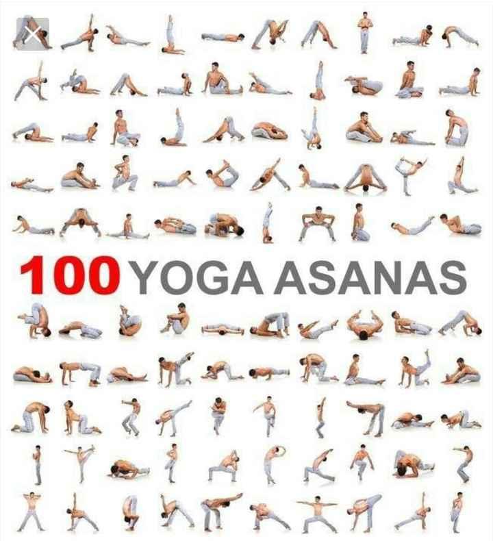 yoga - 100 YOGA ASANAS - ShareChat