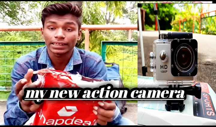 yuvraj - HD 1080P my new action camera HOS BEV SPORTS lapdeal - ShareChat