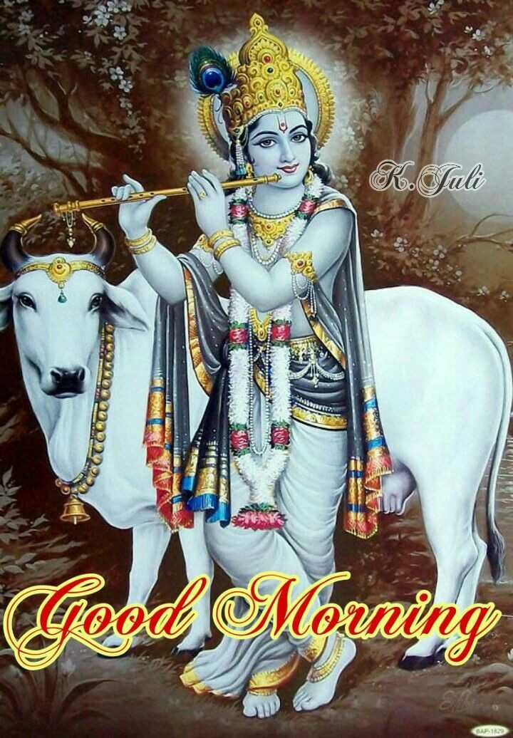 🐄 गौ माता - R . Sali Good Morning GAP 1829 - ShareChat